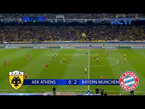 Highlight UEFA Chanmpions League AEK ATHENS vs BAYERN MUNCHEN [23 Oktober 2018]