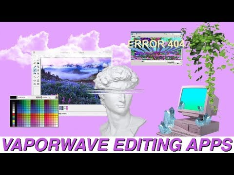 How To Make A Gif Your Wallpaper Iphone Vaporwave Editing A P P S Aesthetics Amp Tumblr Youtube