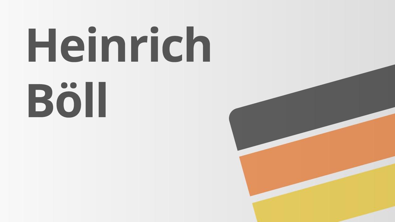 heinrich bll leben und werk deutsch literatur - Heinrich Boll Lebenslauf