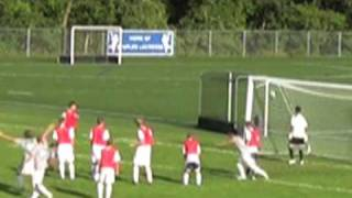 Amazing Bicycle Kick Goal Off Throw In - Staples High School Soccer streaming