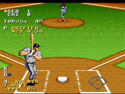 SNES - Ken Griffey Jr. Presents Major League Baseball - World Series Game 1 (Part 1/3)