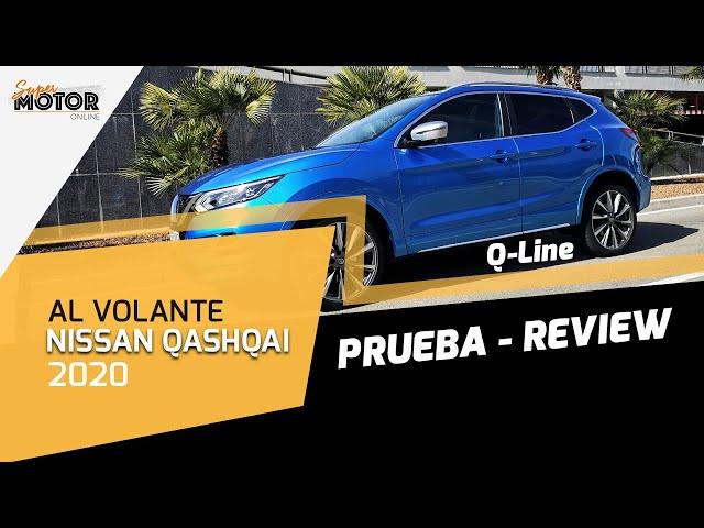 Al volante del Nissan Qashqai 2020 / Qashqai Q-Line Review / Test / SuperMotor.Online / T5 - E13