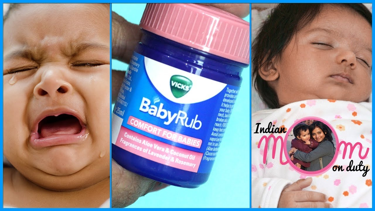 Is It Safe To Put Vicks Vapor Rub On Baby - Baby Viewer