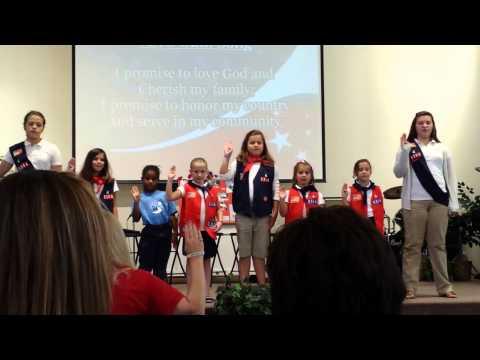 American Heritage Girls Pleg Song