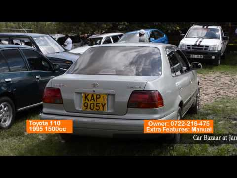 Jamuhuri car bazaar advert 10 th May 2015