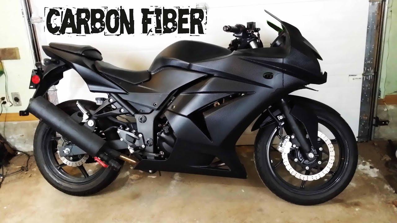 Carbon Fiber Ninja 250 Youtube