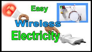 Easy wireless electricity | How to make