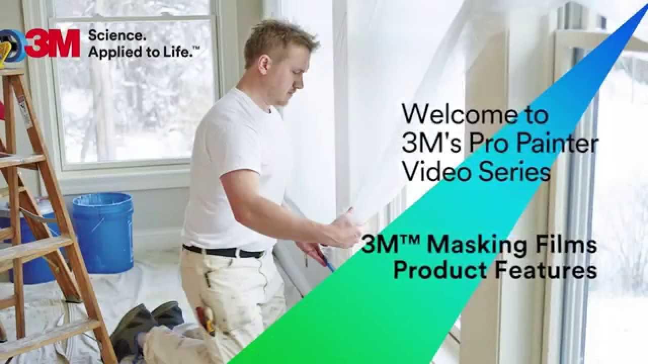 3m plastic masking film