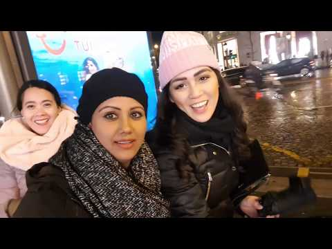 Paris in the Rain with Mamta Sachdeva Cabin Crew/Air hostess/flight attendant Layover Fun Part 2
