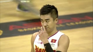 Stefan Nguyen (Tuấn Tú Nguyễn) 16 Pts 6 Asts Full Highlights vs Hi-Tech Bangkok City (29.01.16)