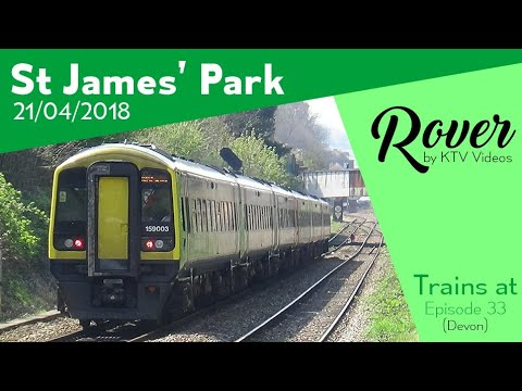 Trains At St James' Park, WEML - 21/4/18