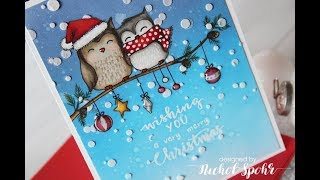 Detailed One Layer Christmas Card