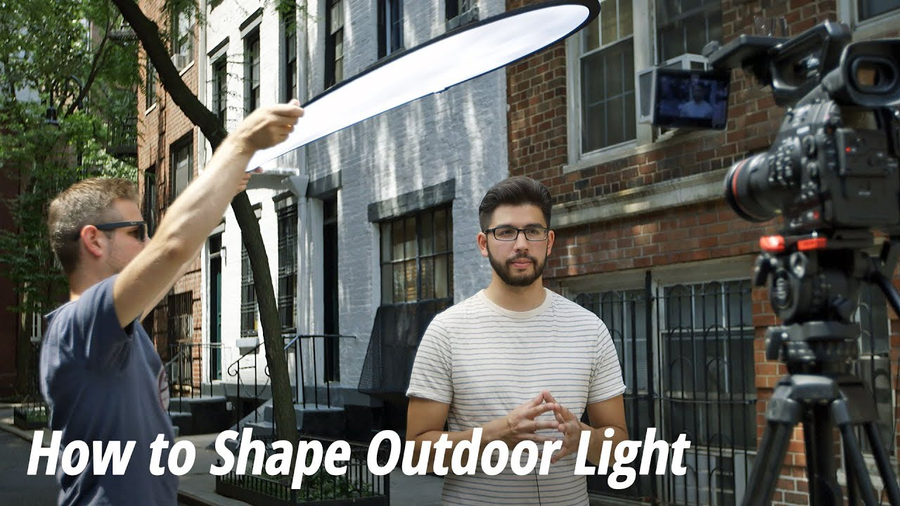 How to Shape Outdoor Light