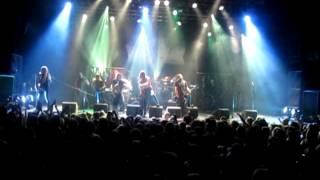 FINNTROLL feat. Masha & Jonne - Jaktens Tid live at Heidenfest in Tilburg 2012
