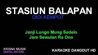 Download STASIUN BALAPAN KARAOKE DANGDUT CAMPURSARI HD