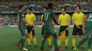 la liga 23 october 2016 real madrid vs athletic bilbao match simulation