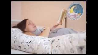 Врачи рекомендуют подушки для беременных U-образной формы(Форма подушки позволяет лечь на нее так, чтобы иметь точку опоры под растущим животиком, снизив тем самым..., 2015-02-02T18:26:40.000Z)