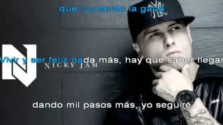 (Karaoke)Nicky jam-Un sueño
