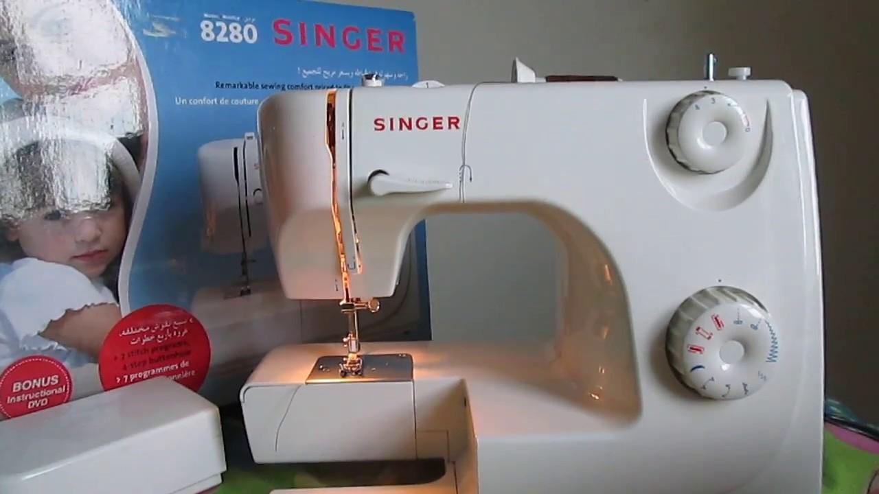 comment placer le fil dans la machine a coudre singer youtube