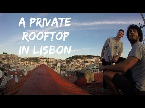 A Private Rooftop in Lisbon