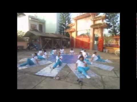 duong sinh thể dục : yoga toa nhiêt GL VT