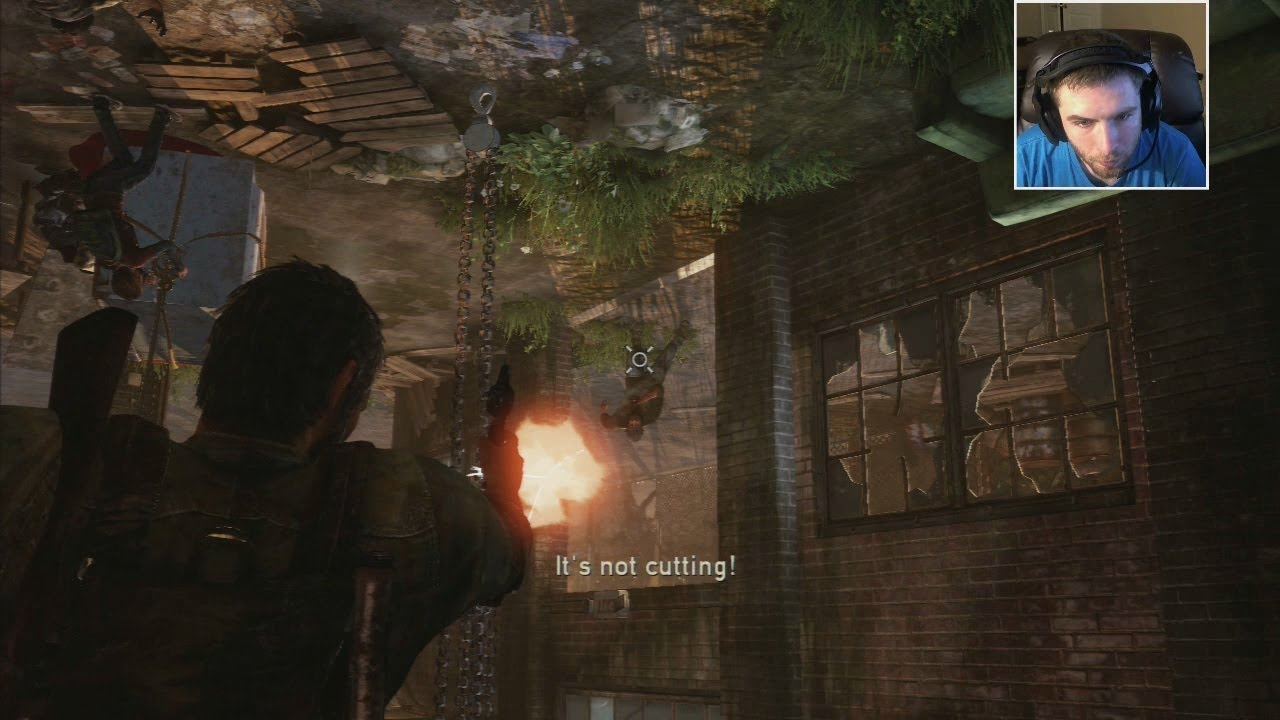 SHOOTING UPSIDE DOWN LIKE A BOSS The Last of Us Part 10 by