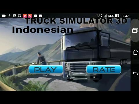 Ayo download game baru ini!!indonesia truck!!hd graphics!!