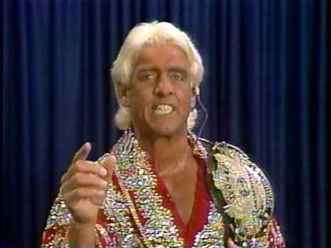 Ric Flair Interview WWF Prime Time