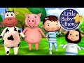 Ringa Ringa Roses | Nursery Rhymes | from LittleBabyBum!