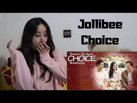 Kwentong Jollibee Valentine Series 2019 Choice _ REACTION