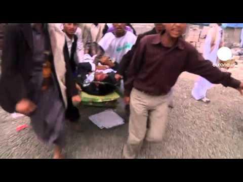 Yemen kan gölüne döndü