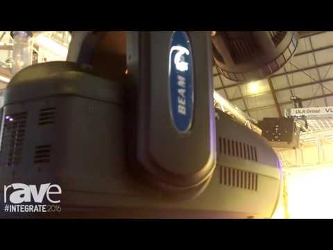 Integrate 2016: Phantos Beam Shows Off Its 280 Moving Head Light