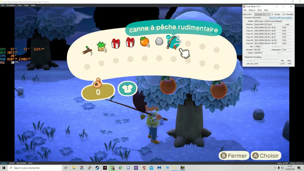 Animal Crossing : New Horizons - GTX 750 TI avec Rysen 3 ...