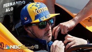 Fernando Alonso wrecks during second day of practice | Indy 500