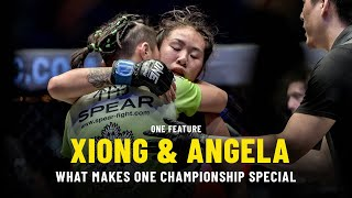 Xiong Jing Nan & Angela Lee On What Makes ONE Championship Special | ONE Feature