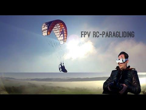 FPV RC-Paragliding mit Hacker Para-RC FREE V2 Sensis & EVO Harness  Dez.2015
