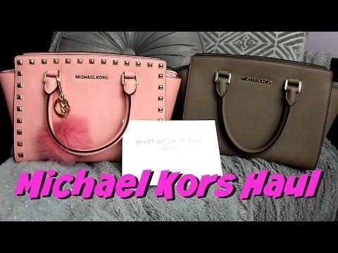 Michael Kors Handbag Haul & Unboxing thumbnail
