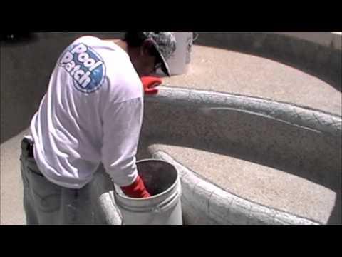Pool Pebble Repair by Pool Patch®