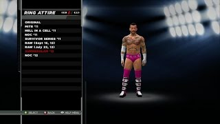 WWE 2K15 - John Cena and CM Punk Attires