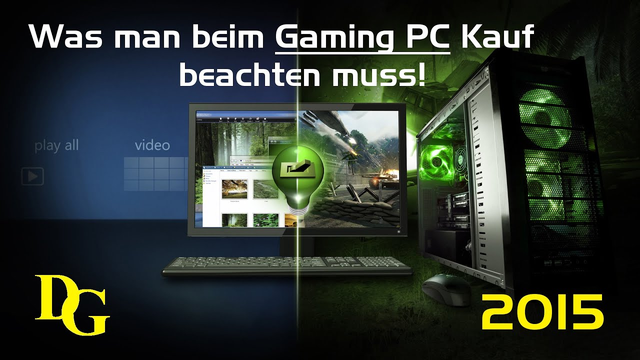 Was Man Bei Dem Pc Kauf Beachten Muss Gaming Pc Kaufen