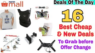 {16Jan} 16 New & Cheap Deals on Paytm mall To Grab Fast.