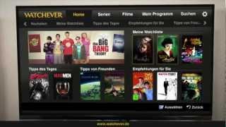 WATCHEVER - Die Flatrate für TV-Serien und Filme!