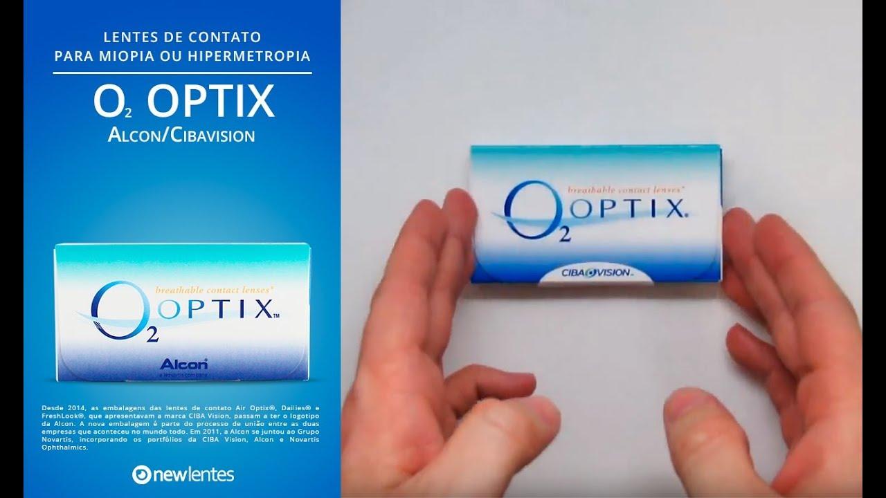 Lente de Contato O2 Optix Alcon. NewLentes dc85ef3046