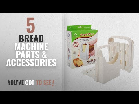 Top 10 Bread Machine Parts & Accessories [2018]: Bread Slicer Toast Slicer Yummy Sam Toast Cutting