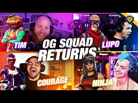 AFTER DARK FORTNITE! THE OG SQUAD RETURNS! (Fortnite: Battle Royale)