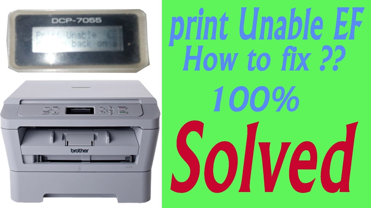 Brother MFC9440 'Unable Print 32' Error fix! by Kurt Braun