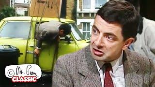 ကားထဲမှ ထွက်၍ မရပါ!   မစ္စတာ Bean ကိုအပြည့်အဝဇာတ်လမ်းတွဲများ။   ဂန္ထဝင် Mr Bean