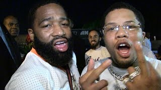 Adrien Broner Says 'Floyd and 50 Are Bitch Asses, Stop Fighting!' | TMZ Sports