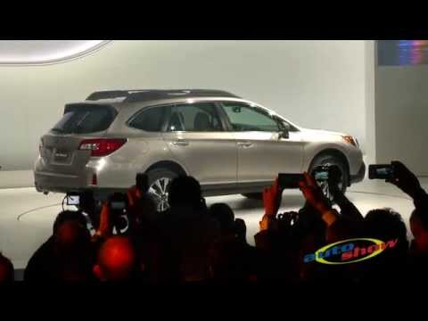 Subaru Introduces 2015 Outback at 2014 NYC Auto Show