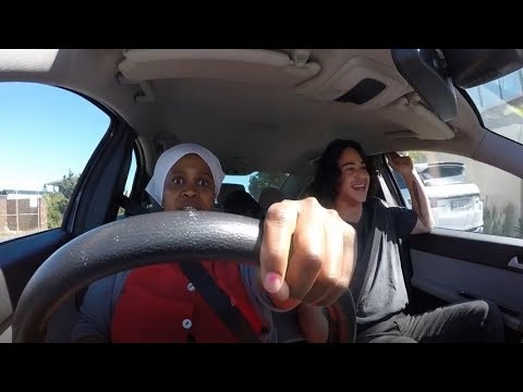 Watch out! Plenty of fun as Cape Town domestic worker takes the wheel